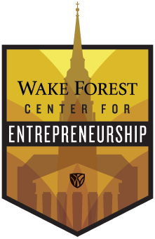 Center for Entrepreneurship at Wake Forest University, North Carolina